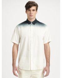 3.1 phillip lim Dip-dye Pants in White for Men | Lyst