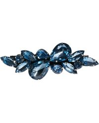 ASOS Limited Edition Stone Hair Brooch - Blue