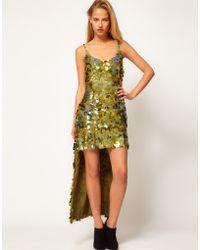 Asos Revive Sequin Maxi Dress - Lyst