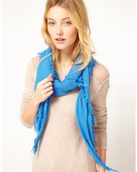 French Connection Pretty Plain Scarf - Lyst