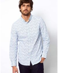 French Connection Floral Shirt - Lyst