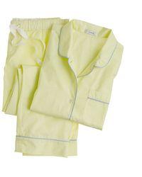 J.Crew Vintage Shortsleeve Pajama Set - Lyst