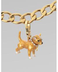 Juicy Couture Chihuahua Charm - Metallic