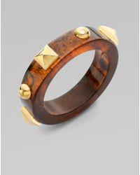 Marc By Marc Jacobs Concrete Jungle Studded Bracelet - Lyst