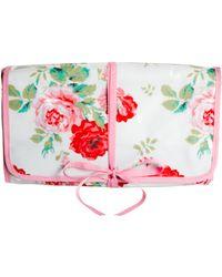 Cath Kidston - New Rose Bouquet Roll Washbag - Lyst