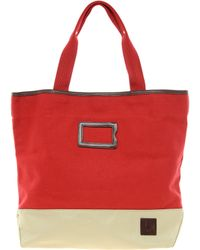 Fred Perry Tote Bag - Red