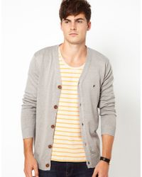 French Connection Button Through Cardigan - Grey