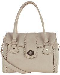 Oasis Scallop Shoulder Bag - White