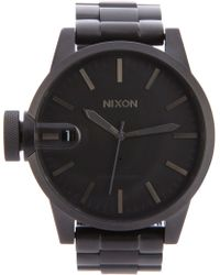 Nixon The Chronicle Ss Watch - Lyst