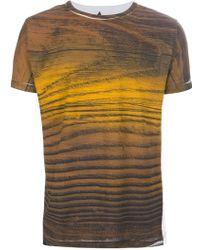 Sangue - Wood Tshirt - Lyst