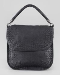 Bottega Veneta Cervo Medium Flap Shoulder Bag - Lyst