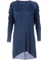 Haider Ackermann Open Back Dress - Blue