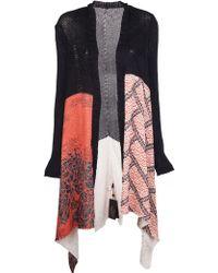 Horiyoshi III Vintage Kimono Shawl Cardigan - Pink
