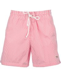 Maison Kitsuné - Striped Swim Shorts - Lyst