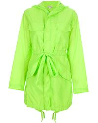 P.A.R.O.S.H. Parsifal Parka green - Lyst