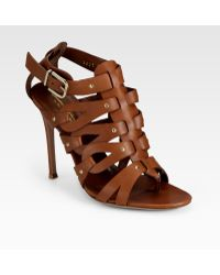 Altuzarra Strappy Leather Sandals - Lyst