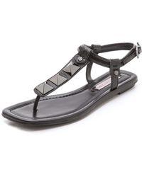 BCBGMAXAZRIA Brynn Studded Sandals - Lyst
