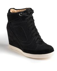 French Connection - Marla Hiddenwedge Hitop Sneakers - Lyst