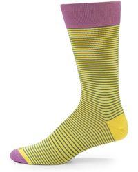 Hook + Albert - Sunshine Superthin Striped Socks - Lyst