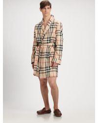 Burberry - Check Robe - Lyst