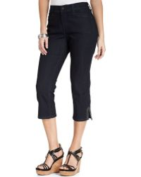 Not Your Daughter's Jeans | Suzy Skinny Studded Capris  | Lyst