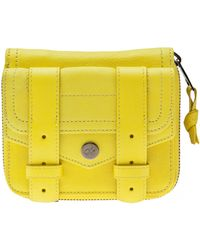 Proenza Schouler Lux Leather Ps1 Small Zip Wallet - Lyst