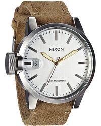 Nixon The Chronicle Watch - Lyst