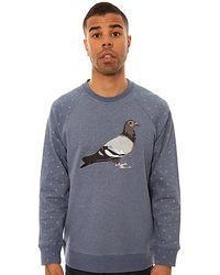 Staple The Spitball Pigeon Crew Neck Sweatshirt - Lyst