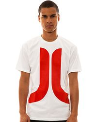 Wesc The Biggest Icon Tee in White - Lyst
