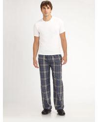 Burberry - Tee Pajamas Pants Set - Lyst