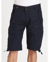 Diesel Blue Sislargo Shorts - Lyst