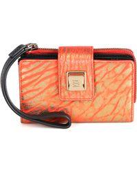 Olivia Harris | Leather Tech Wallet  | Lyst