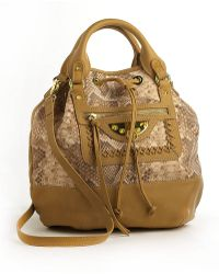 Sam Edelman Tilda Marais Leather Satchel Bag brown - Lyst