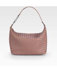 Bottega Veneta Woven Leather Mini Shoulder Bag 112