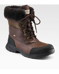 Ugg Butte Lace-Up Boots - Lyst
