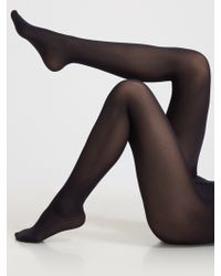 Wolford Velvet De Luxe 50 Tights - Lyst