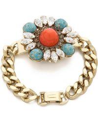 Anton Heunis | Floral Cluster Bracelet | Lyst
