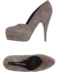 Gaspard Yurkievich Platform Court Shoes - Grey