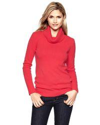Gap Cowlneck Sweater - Lyst