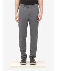 Acne Studios Wool Straight-leg Pants - Gray