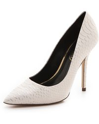 Boutique 9 - Justine Leather Court Shoes - Lyst