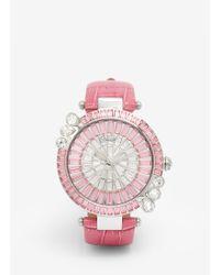 Galtiscopio 'marguerite' Crystal Dial Watch - Pink