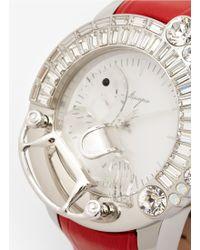 Galtiscopio 'la Giostra I' Rocking Horse Crystal Watch - Red