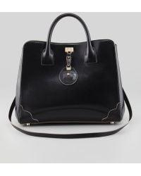 Jason Wu Jourdan Leather Turnlock Tote Bag - Lyst