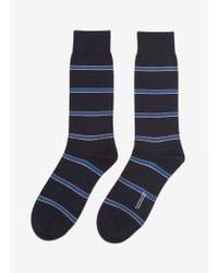 Pantherella | Striped Cotton-blend Socks | Lyst