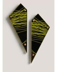 Sarah Angold Studio | Munitio Acrylic Earrings | Lyst