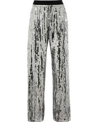 Sass & Bide A Grand Affair Metallic Sequined Pants