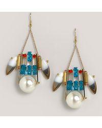 Scho Dominus Earrings - Blue