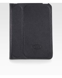 Tod's Stamped Leather Case For Ipad 2 - Lyst