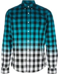 Lacoste L!ive - Checked Shirt - Lyst